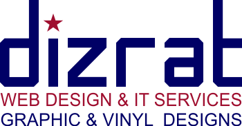DizRat - Website Design and Vinyl Graphics